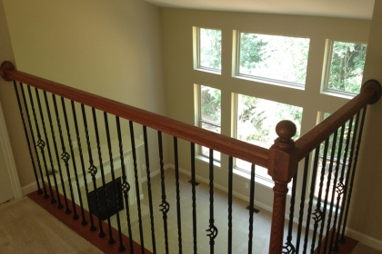 New Home Construction in Commerce Township MI - Steuer & Associates - Railing_C