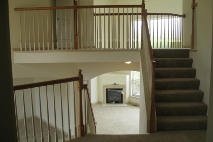 New Home Construction Loan in Van Buren Township MI - Steuer & Associates - Staircase_C