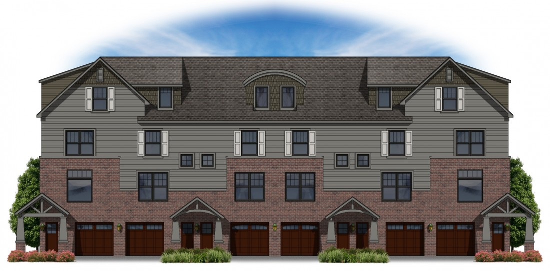 Primary Place Townhomes Downtown Auburn Hills | Steuer & Associates Inc - 6units