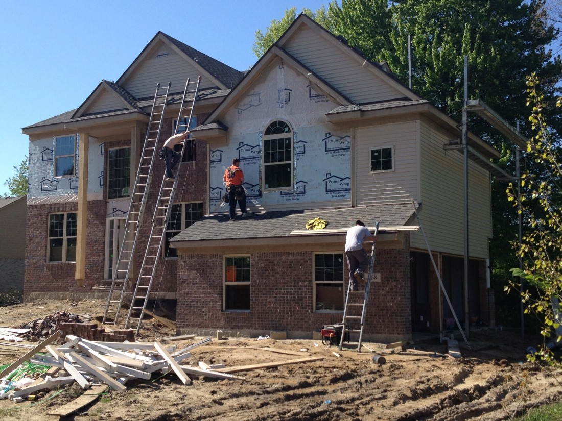 Building A New Home in Van Buren Township MI - Steuer & Associates - IMG_0374
