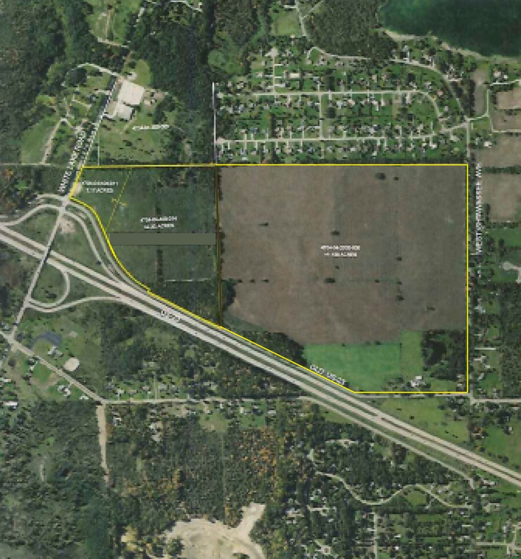 Commercial Property Tyrone Township, MI | Steuer & Associates Inc - Property_Outline_208_acres(1)